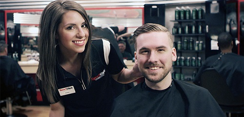 Sport Clips Haircuts of Mansfield Crossing​ stylist hair cut